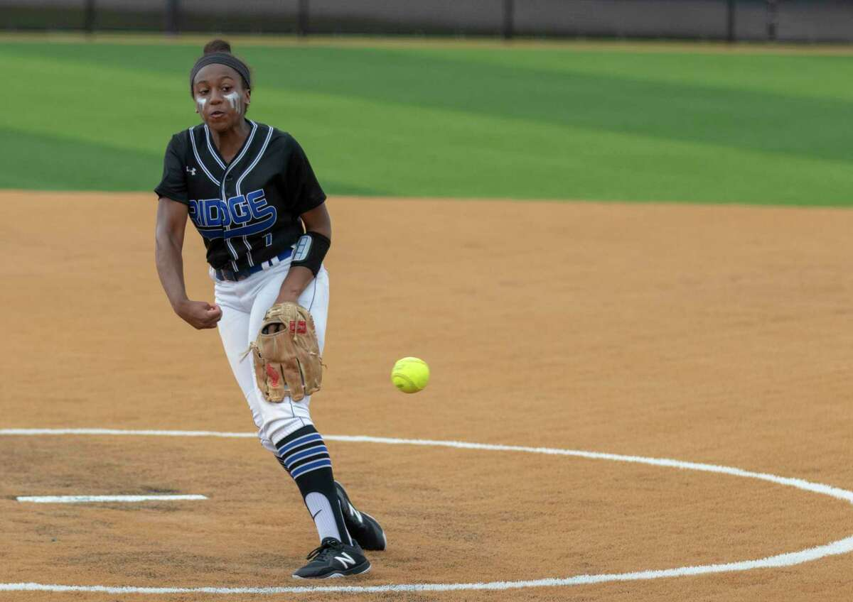 Oak Ridge pitcher Morgan Brandon, shown here last season, pitched a complete game against The Woodlands on Tuesday.