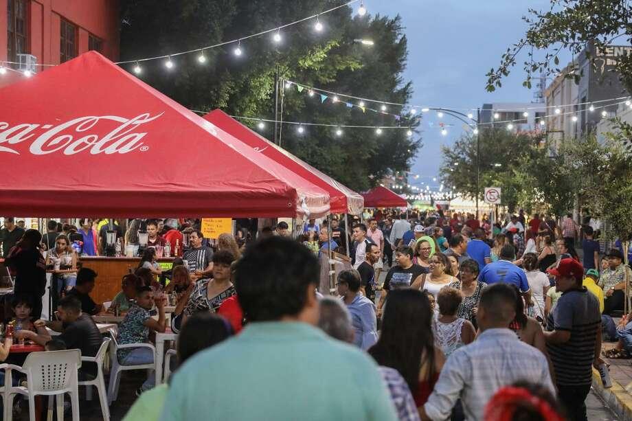 El evento 'Guerrereando, la Fiesta del Centro Histórico, Uniendo Fronteras' se llevará a cabo este 22 de febrero a partir de las 5 p.m. con música en vivo y otras atracciones. Photo: Foto De Cortesía /Gobierno Municipal De Nuevo Laredo
