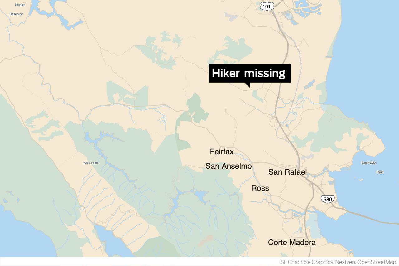 Elderly hiker missing in Marin County