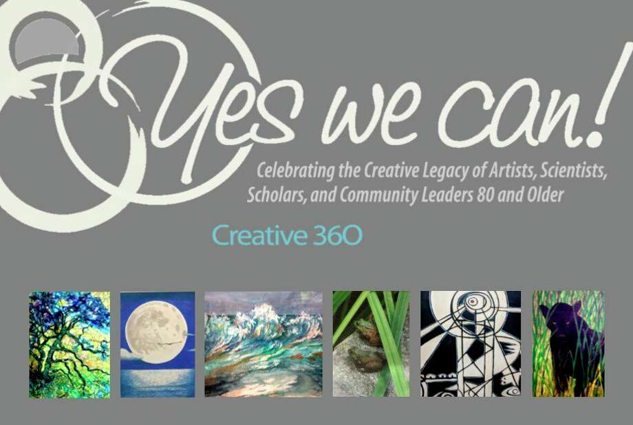 Creative 360 in Midland will host the opening reception Friday, Feb. 21, for the seventh annual Yes We Can! exhibition featuring the works of 28 artists from across the Great Lakes Bay region who are 80 and older. (Photo provided/Creative 360)