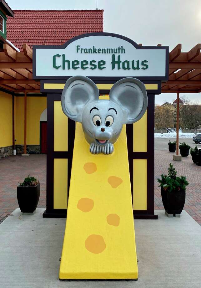 After nearly 50 years the beloved mouse mascot of the Frankenmuth Cheese Haus finally has a name. (Photo provided/Frankenmuth Cheese Haus)