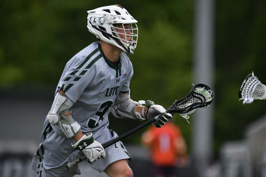 Loyola lacrosse player Kevin Lindley. Photo: Larry French / Loyola Athletics