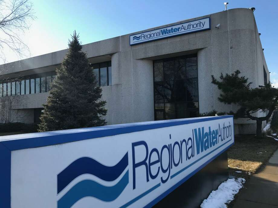 The headquarters of the South Central Connecticut Regional Water Authority on Sargent Drive in New Haven. Photo: Luther Turmelle/ Hearst Connecticut Media