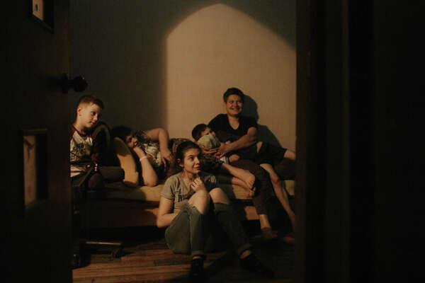 Director: Iryna TsilykWith: Anna Gladka, Myroslava Trofymchuk, Anastasiia TrofymchukRunning time: 1 hour 14 minutes