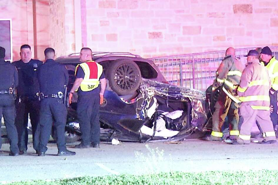 One man is dead after crashing into the parking lot of Lutheran High School late Tuesday night.