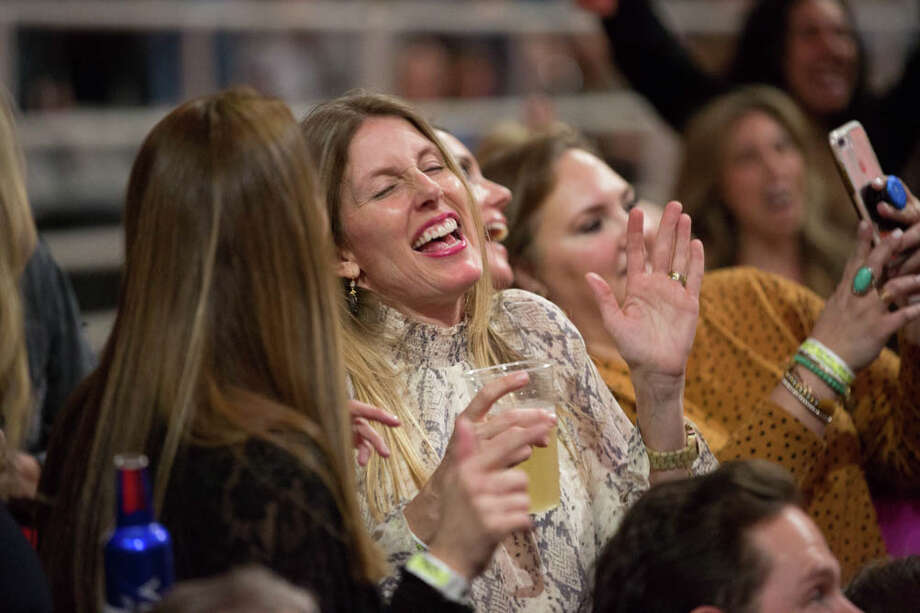 Dierks Bentley fans were 'living' their best lives Tuesday night at the San Antonio Stock Show and Rodeo. Photo: B. Kay Richter