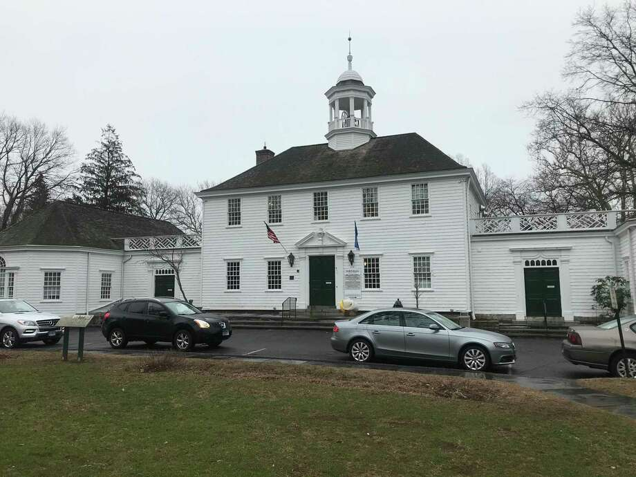 A photo of the Old Town Hall in Fairfield taken on Feb. 18 2020. Photo: / Josh LaBella