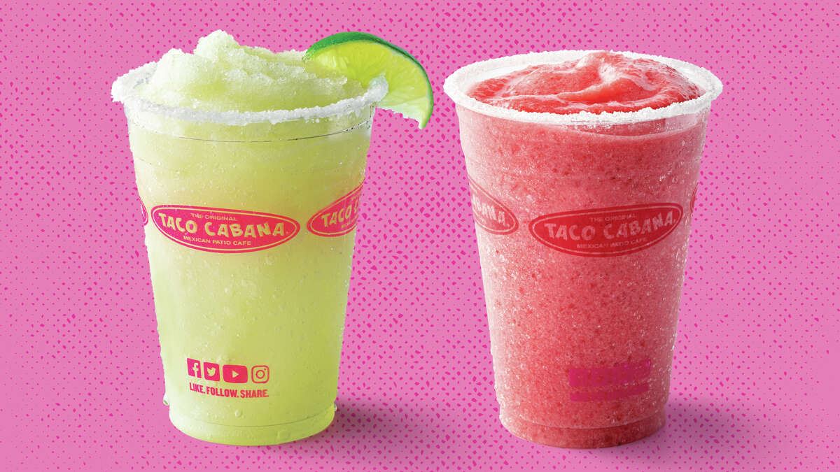 Taco Cabana: Strawberry and lime frozen margaritas are $2 all day. See tacocabana.com for locations.