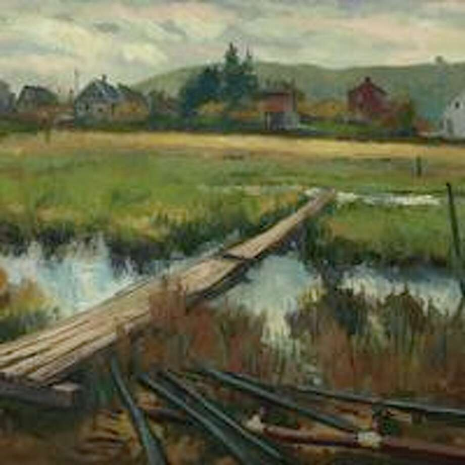 Frank Bruckmann will paint a landscape in oil using a photo for subject matter at the next Shelton Arts League meeting on Feb. 24. Photo: Contributed Photo / Connecticut Post