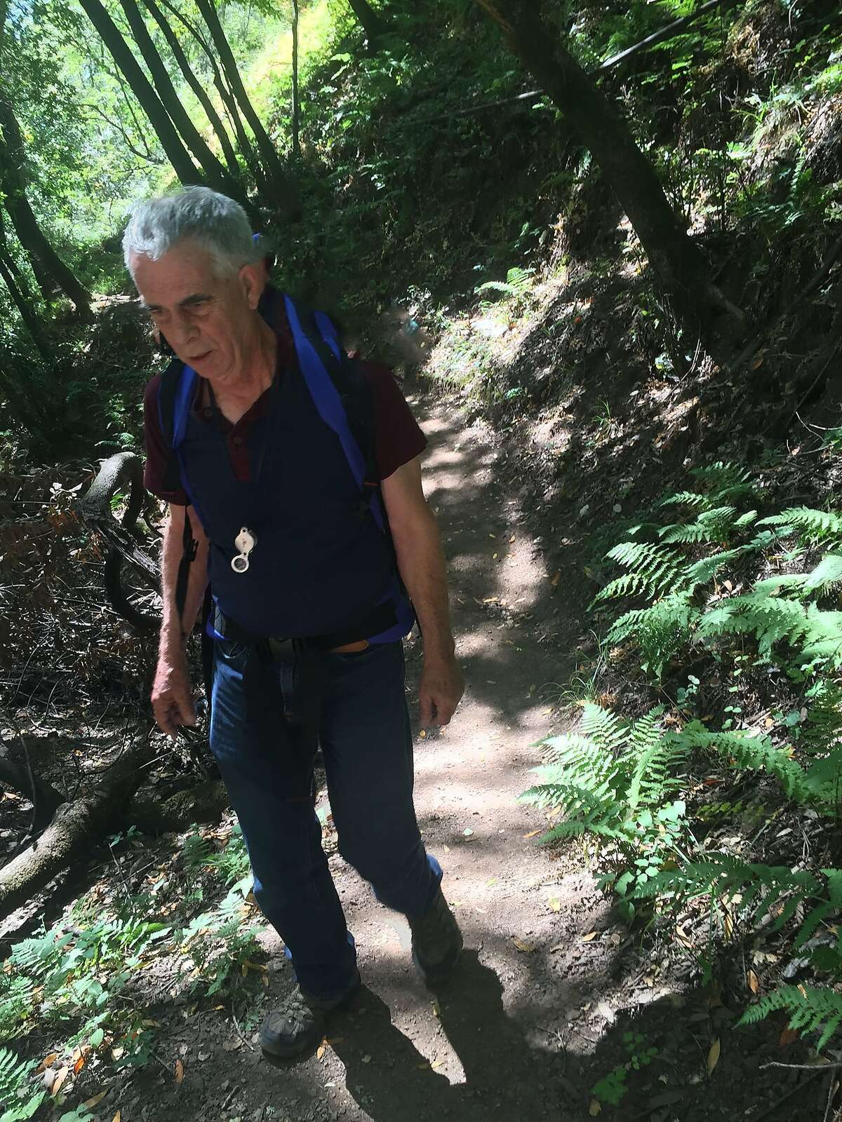 Officials found hiker Robert Bennett Tuesday night about a day and a half after he was last seen in Marin County.