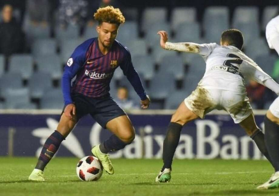 Training at La Masia, FC Barcelona's youth development facility is 18-year old Konrad de la Fuente the next big thing in US Soccer? Photo: SportStars Magazine
