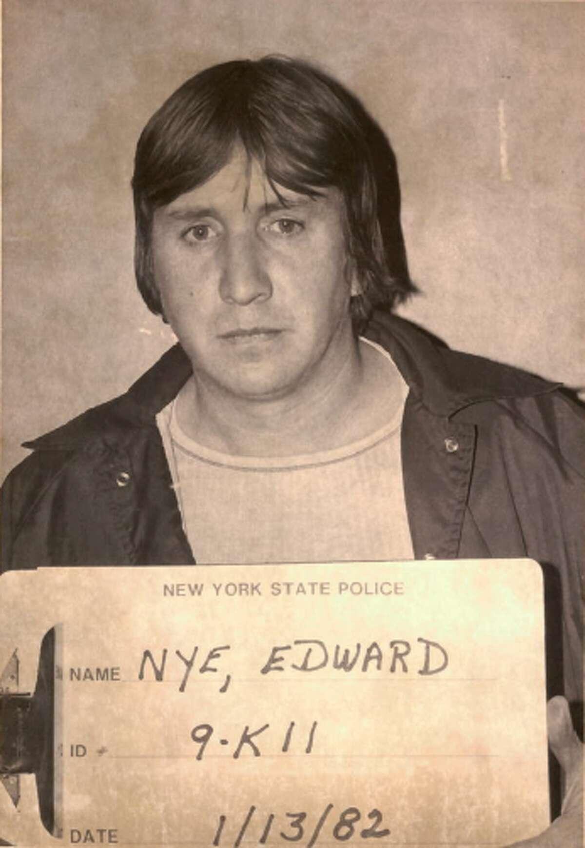 Edward Nye's 1982 mugshot.