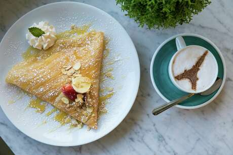 Known for its extensive menu of sweet and savory crepes and beautiful, French-inspired decor, the popular restaurant chain has expanded its menu to include waffles, salads, paninis, soups, milkshakes and hot drinks.