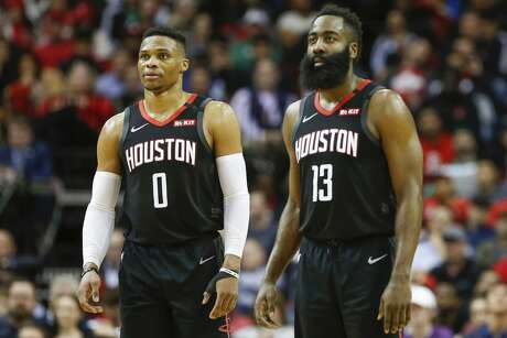 With the Astros being a national punching bag right now, Houston fans could use an inspired playoff run from the Rockets and their two former MVPs James Harden and Russell Westbrook.