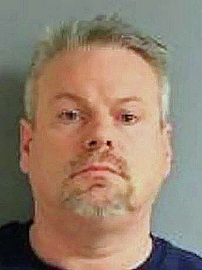 Eric J. Fenyes, 46, of Sherman, was arrested on Tuesday, Feb. 18, 2020 by New York State Police on a charge of criminal sex act in the second degree, a class D felony. Fenyes is is accused of having engaged in sexual conduct with a victim under 15 years-old in a Poughkeepsie, N.Y. last November. Photo: New York State Police Photo