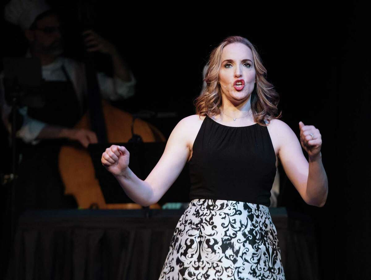 Anya Caravella stars in The Ridgefield Theater Barn's musical Smorgasbord performed on Sunday, Feb. 16, 2020. The music and lyrics were written by Bradford Blake.