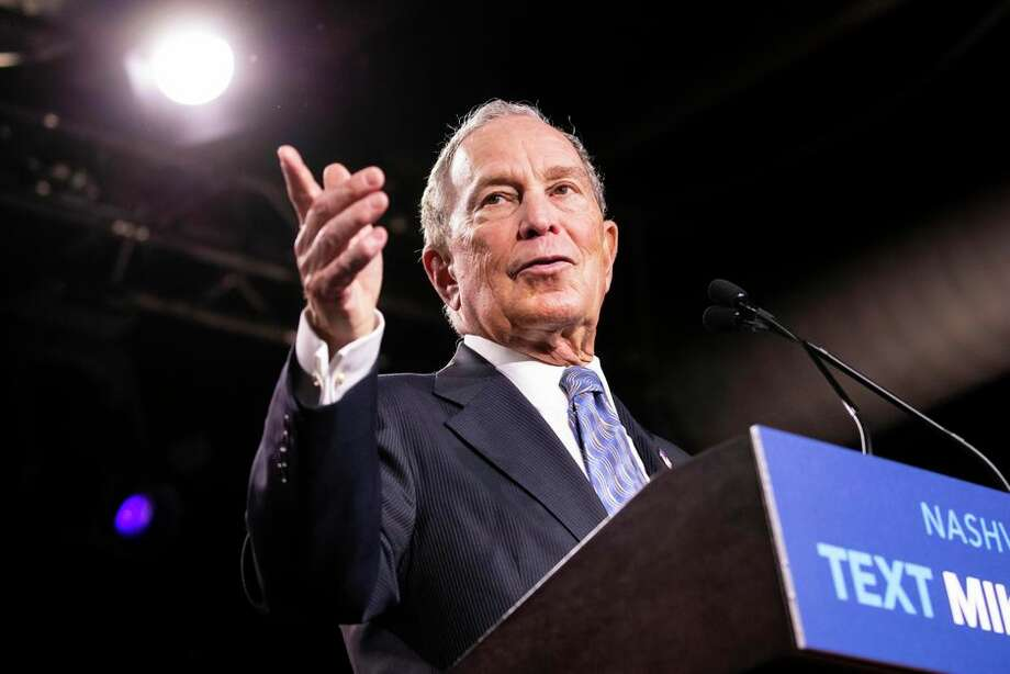 The Bloomberg campaign effort is focused on California, for now. Photo: Brett Carlsen/Getty Images
