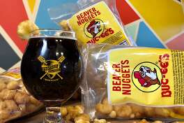 Road Trip Snacks Brown Ale is infused with Buc-ee's Beaver Nuggets. The 6% ABV brew has a toasted caramel and maple flavor from the sweet corn nuggets. It was only served in the brewery's tap room and sold-out in a few hours.