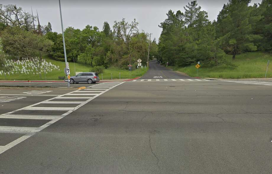 Deer Hill Road in Lafayette, Calif., near the BART station. Photo: Google Street View