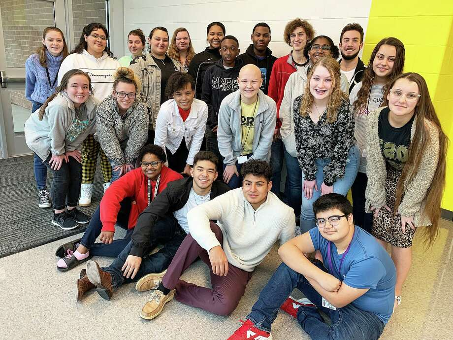 Students who competed include front row, from left Dominique Harris, John Cisneros, Rafael Martinez, and Daniel Martinez. Second row, Samantha Jackswon, Taylor Heifner, Lauryn Mitchell, Emily Thibodeaux, Jaci Presnull, and Brooke Burgess. Third row, Jade Savala, Faith Singh, Gerald Redmon, Zandrea Carter, and Katelyn Singh. Fourth row, Hannah Bearden, Abigail Turner, Katelynn Klitzka, Nailah Donatto, Caleb Caldwell, Nolan Myers, and Michael Abel. Not pictured is Temidayo Esho and Julianne Shivers. Photo: Submitted