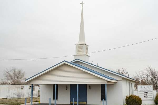 Ranchland Heights Baptist Church in south Midland, seen 02/19/2020, has been expelled from the Southern Baptist Convention for allowing Pastor Phillip Rutledge to continue as its leader as a registered sex offender. Tim Fischer/Reporter-Telegram