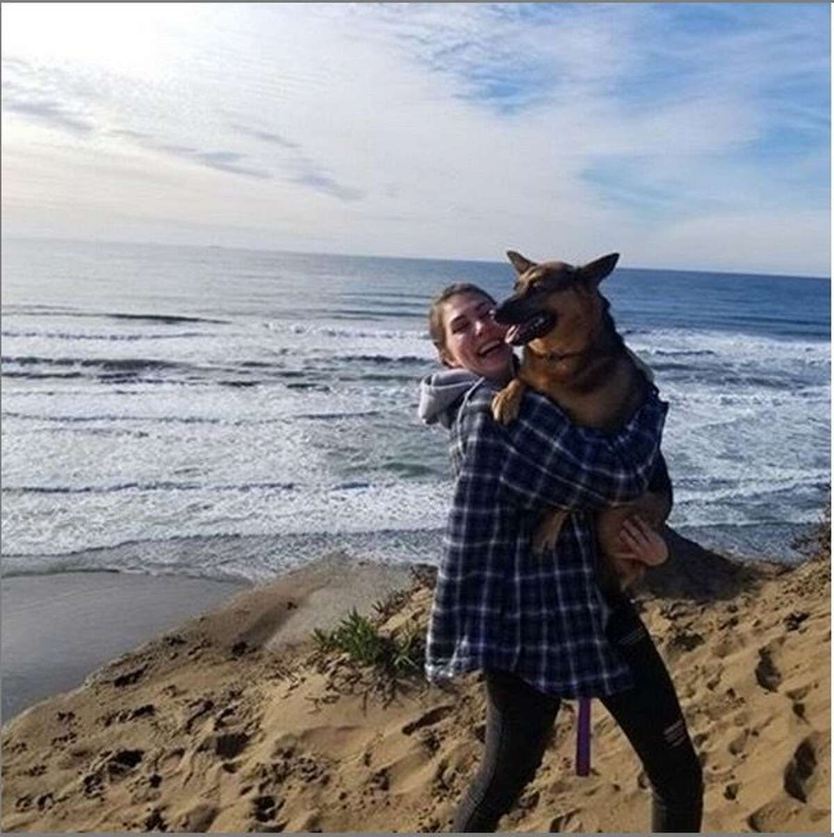 Kyra Sunshine Scarlet, 22, went missing last month after a cliff collapsed at Fort Funston. Scarlet's family confirmed Tuesday that her body had been recovered at the beach earlier in the week.