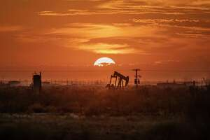A pump jack in the Permian Basin in Texas, Nov. 5, 2019. Immense amounts of methane are escaping from oil and gas sites nationwide, worsening global warming, even as the Trump administration weakens restrictions on offenders. (Jonah M. Kessel/The New York Times)