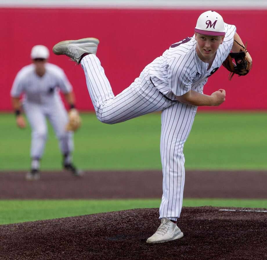 Magnolia starting pitcher Cameron Nickens (30) throws in the second inning of Game 3 during a Region III-5A bi-district high school baseball playoff series, Saturday, May 4, 2019, in Crosby. Photo: Jason Fochtman, Houston Chronicle / Staff Photographer / © 2019 Houston Chronicle
