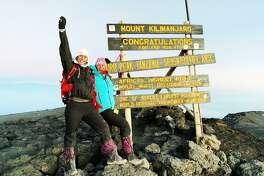 Yale senior swimmer Bebe Thompson climbed Mount Kilimanjaro with her mom.