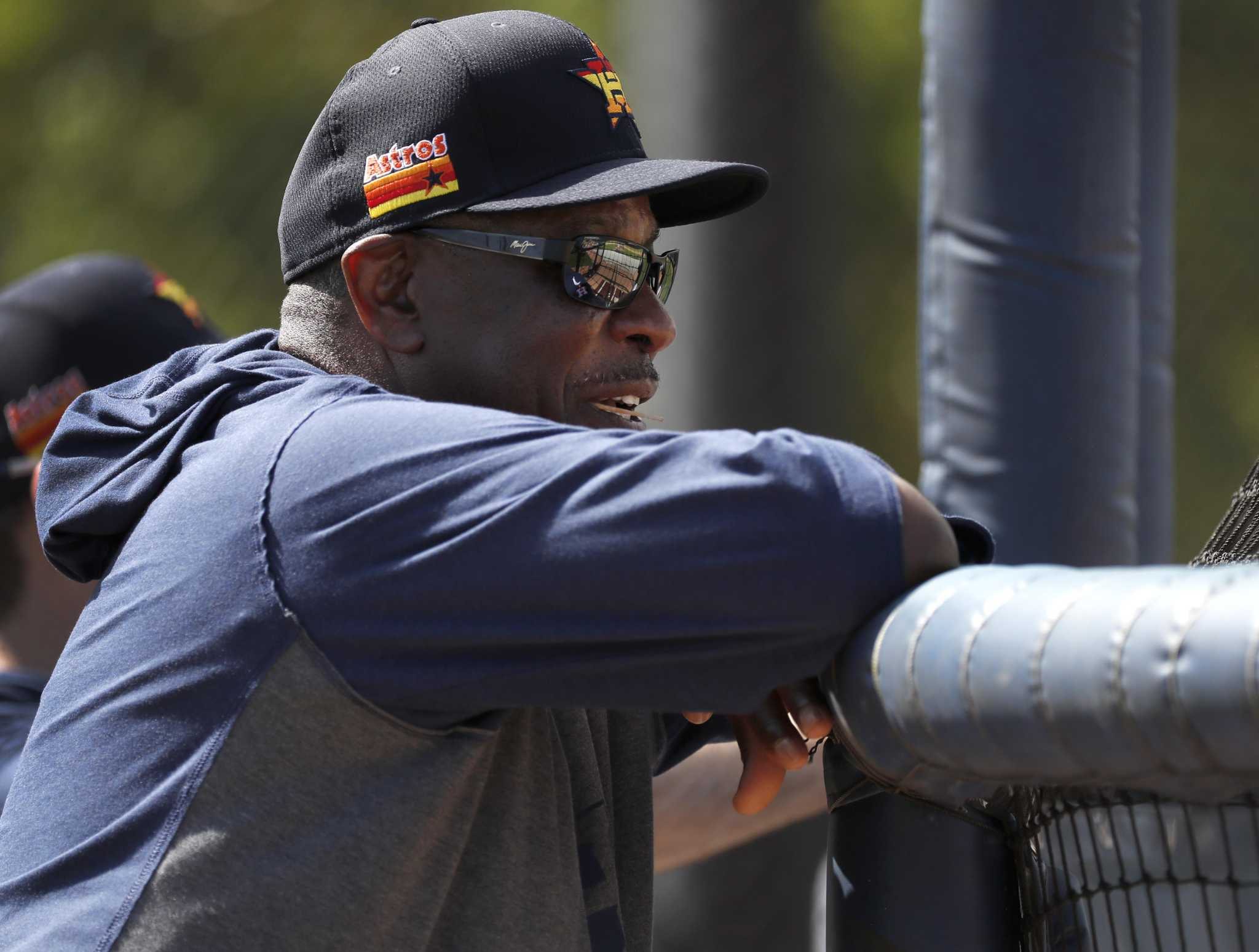 Dusty Baker shares some ideas on how Astros will look