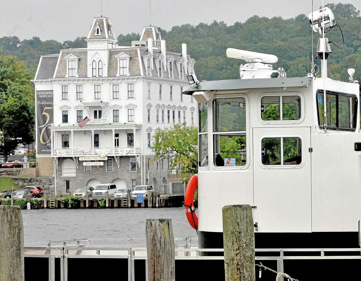 The RiverQuest on the Connecticut River at Eagle Landing and the Goodspeed Opera House in East Haddam are shown.