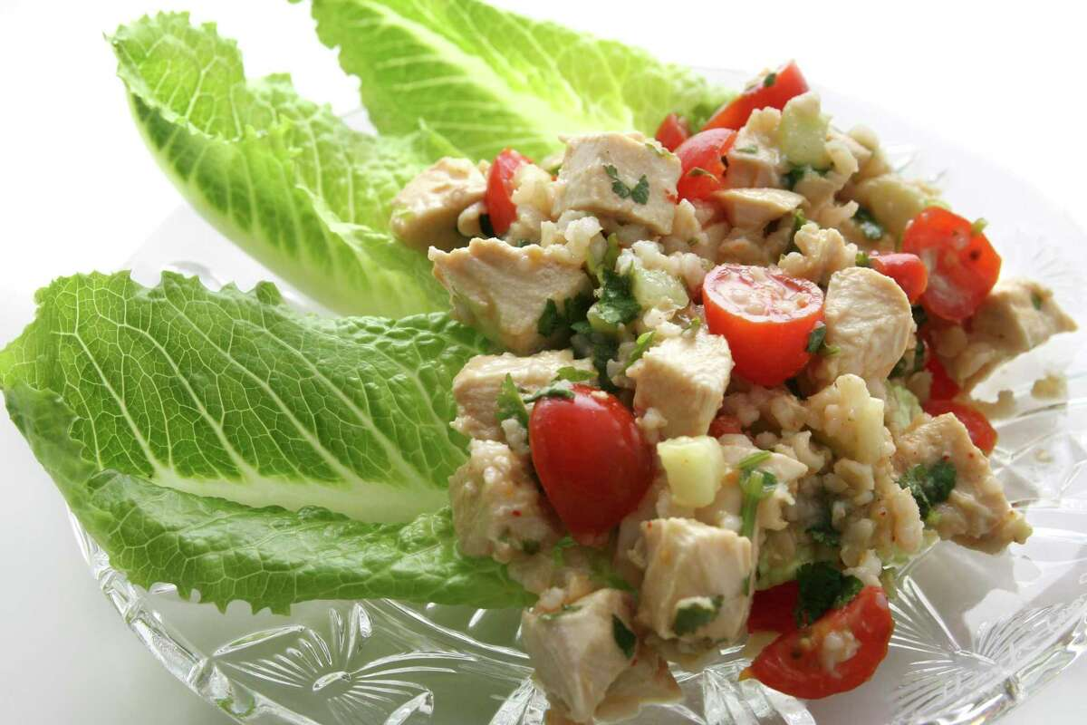 Try new recipes, like a heart-healthy chicken salad.