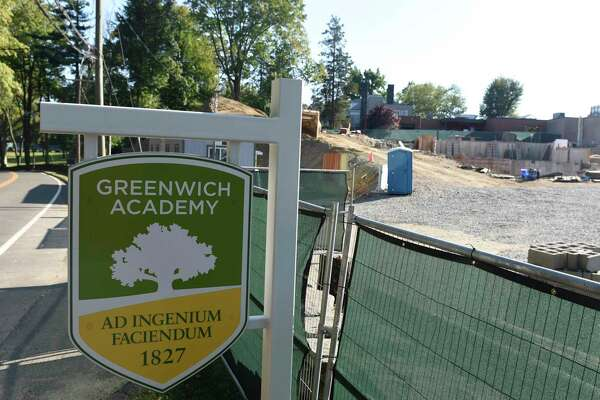 Construction on the new lower school has broken ground at Greenwich Academy in Greenwich, Conn. Wednesday, Sept. 25, 2019.