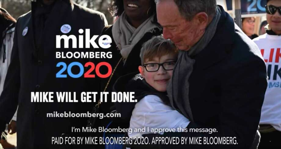 This undated image provided by Mike Bloomberg's campaign shows a scene from the Bloomberg's 2020 Super Bowl NFL football spot. Voters should consider Bloomberg's business-like approach to public education before heading to the polls. Photo: /Associated Press / Mike Bloomberg 2020
