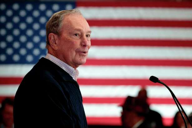 Democratic presidential hopeful and former New York Mayor Michael Bloomberg speaks last year in Detroit, Mich. A reader wonders why Democrats are OK with this billionaire in the presidential, but not a certain Republican billionaire also on the ballot.