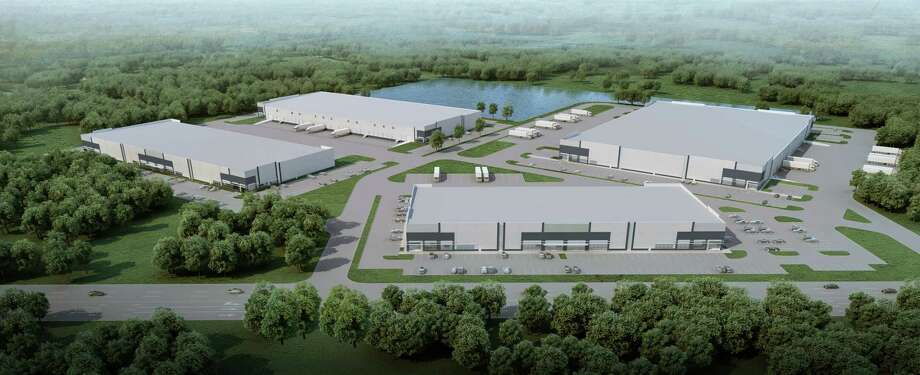 Jackson-Shaw is developing the Nexus Park NorthWest industrial business park at FM 1960 and Bobcat Road in northwest Houston. At build out, the project will contain 476,640 square feet in four buildings. Photo: Jackson-Shaw