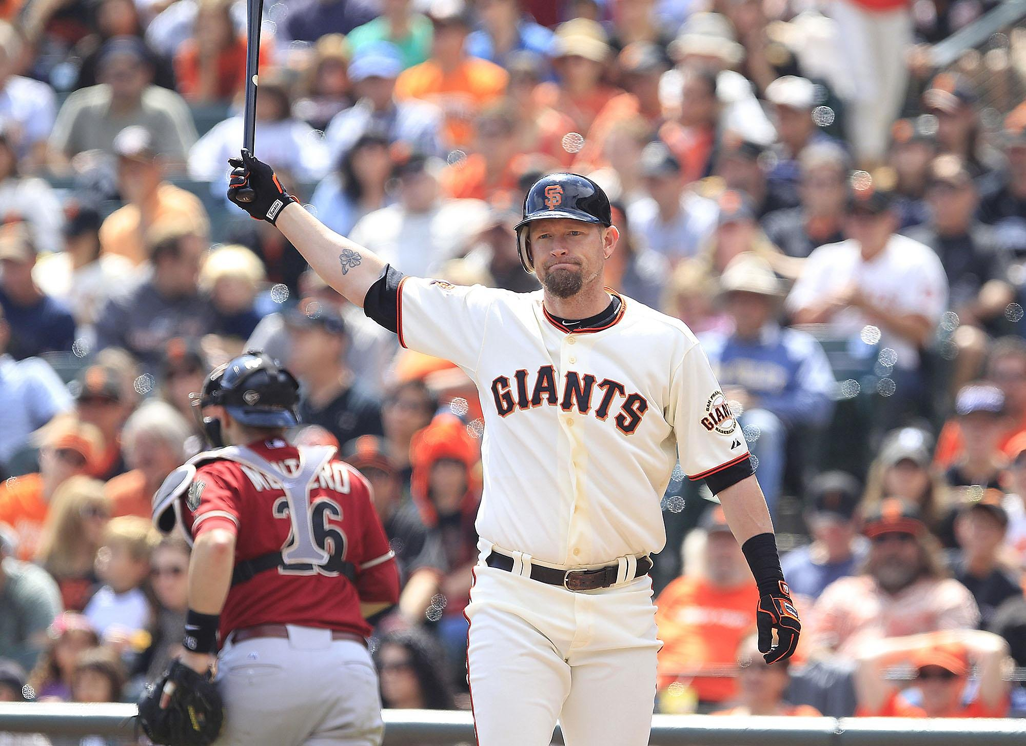 'Perfect timing': Ex-Giant Aubrey Huff to attend Trump rally in Las Vegas