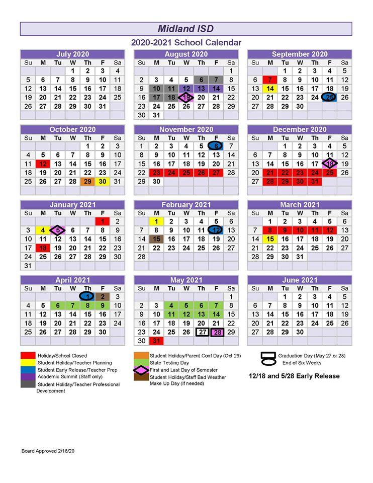 MISD board doesn't pass alternative calendar   Midland Reporter