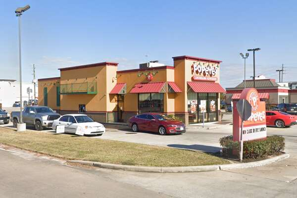 A deputy with the Harris County Pct. 4 Constable's Office shot a suspect who pulled out a knife at a Popeyes in the 20000 block of Holzworth in Spring, authorities say.