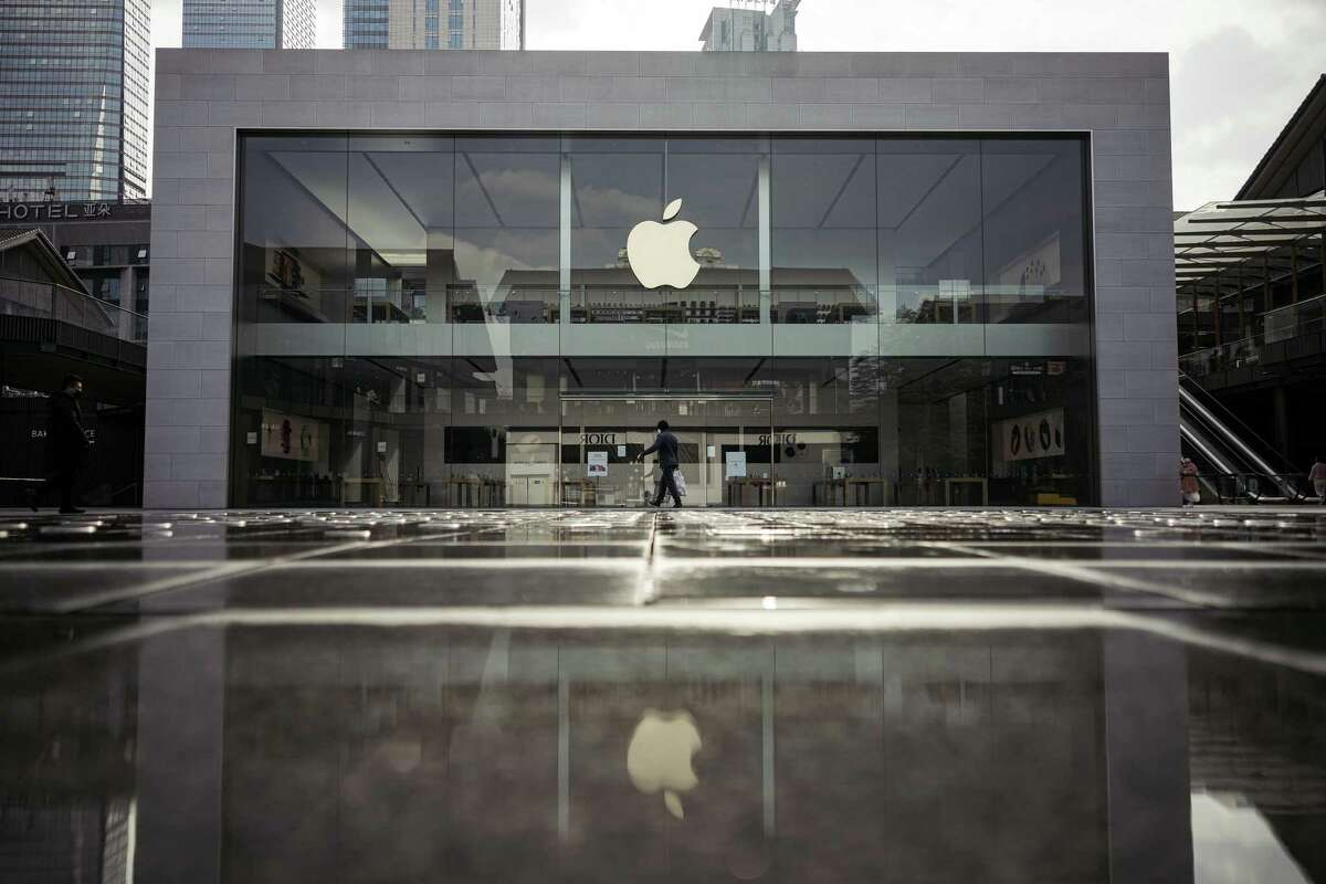 """Apple has slowly begun to reopen its flagship stores across the country in accordance with state and local laws. As these openings begin to roll out, the tech giant has announced a series of health-related measures. Apple will limit the number of customers allowed in the store, employees and customers will be required to wear face coverings and temperature checks will be conducted at the door. Apple employees will also give the store """"enhanced cleanings"""" throughout the day. CLICK HERE to read more about Apple's approach to reopening its stores."""