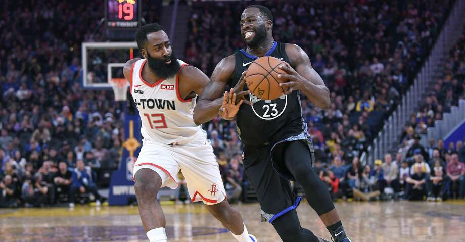 PHOTOS: Rockets game-by-game Draymond Green #23 of the Golden State Warriors drives towards the basket on James Harden #13 of the Houston Rockets during the second half of an NBA basketball game at Chase Center on December 25, 2019 in San Francisco, California.(Photo by Thearon W. Henderson/Getty Images) Browse through the photos to see how the Rockets have fared in each game this season. Photo: Thearon W. Henderson/Getty Images