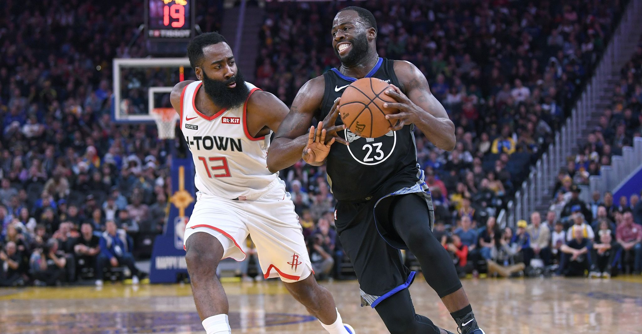 Scouting report: Rockets at Warriors