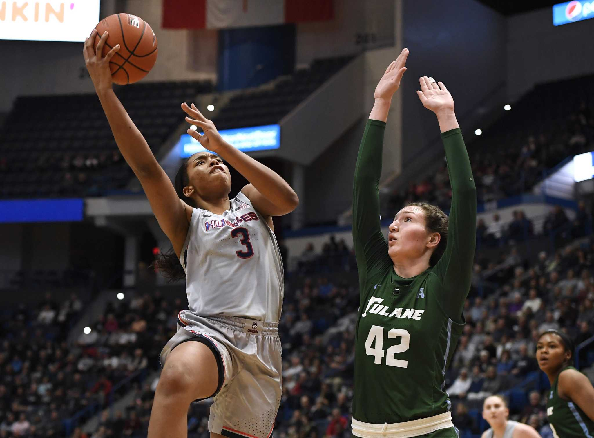 UConn's Megan Walker named to WBCA All-America team, now eligible for Huskies of Honor