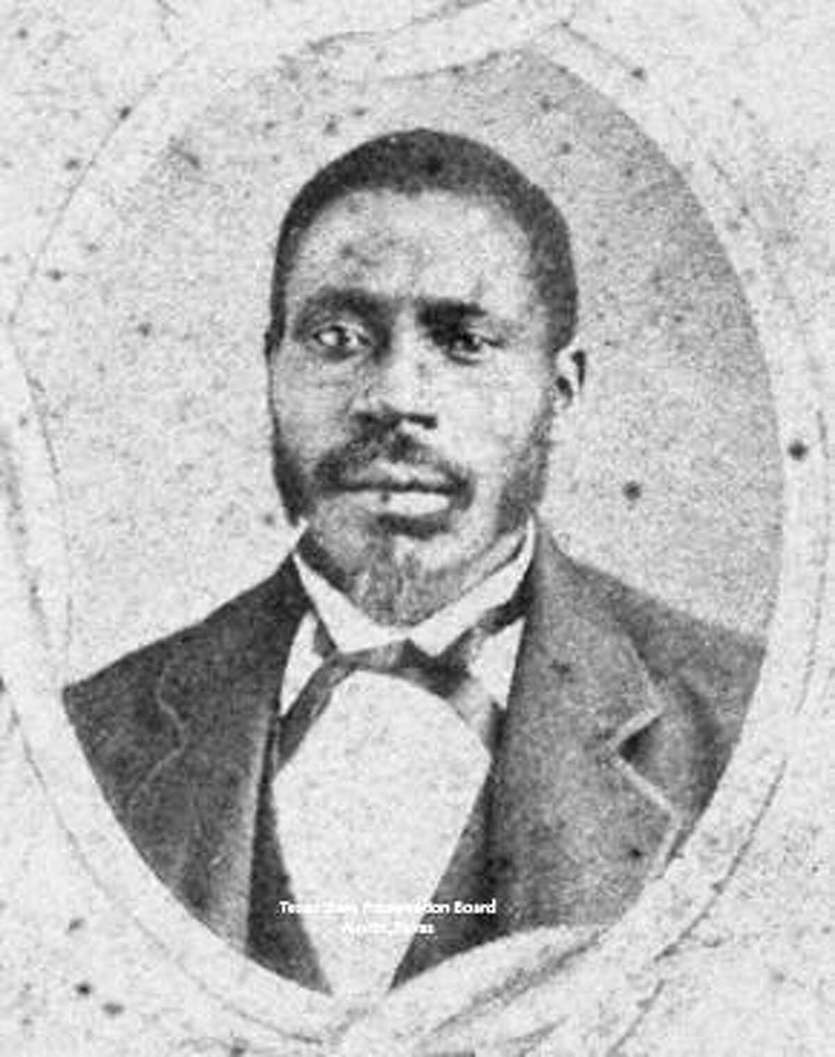 Walter Burton served as Fort Bend County's first black sheriff and later as a state senator.
