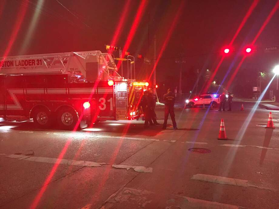 A pedestrian was hit and killed Wednesday night in the 7100 block of Airline, police said. Photo: Houston Police Department