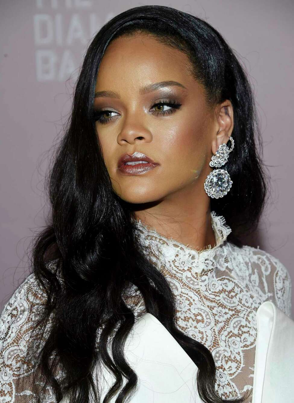 Singer Rihanna attends the 4th annual Diamond Ball at Cipriani Wall Street on Thursday, Sept. 13, 2018, in New York. (Photo by Evan Agostini/Invision/AP)