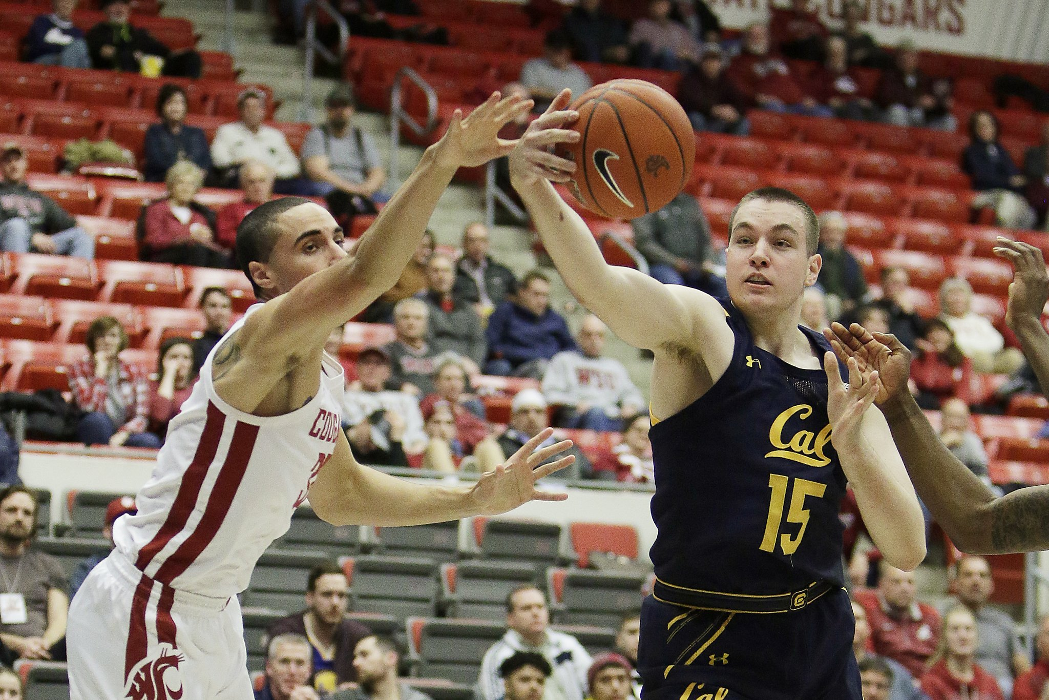 Cal tops WSU, gets first road victory of the season