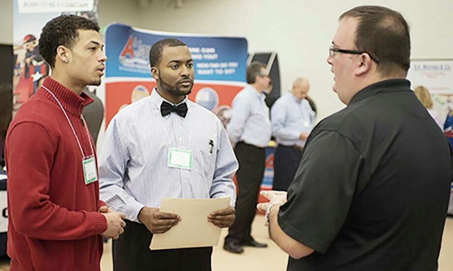 The Spring Career and Internship Fair will run from 11 a.m. to 3 p.m. Thursday, Feb. 20, at Ferris State University's Ewigleben Sports Complex. The Center for Leadership, Activities and Career Services encourages students and alumni to prepare for the event and to dress in business professional attire. (Courtesy photo/FSU)