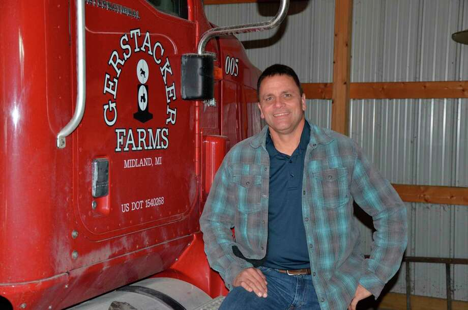 Clark Gerstacker, of Midland, was recently named 2020 Michigan Master Farmer. (Photo provided/Jennifer Kiel, Michigan Farmer magazine)