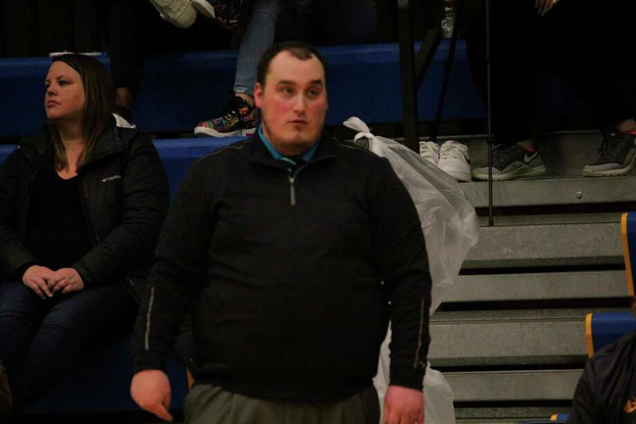 Baldwin JV coach Zach Englehart  watches the action during a recent game. (Star file photo)